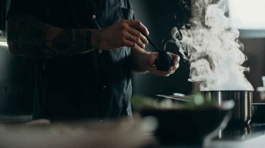 料理人の仕事を見ると、もっと気合をいれないといけないなと反省した話